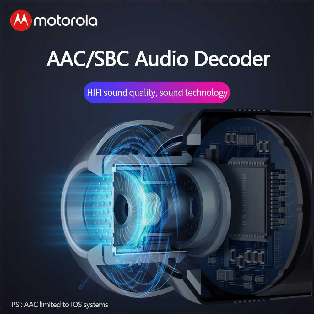 מוטורולה VerveBuds 400 Ture אלחוטי Bluetooth אוזניות מיני אוזניות אוזניות IPX6 עמיד למים עבור Huawei Xiaomi VerveBuds400