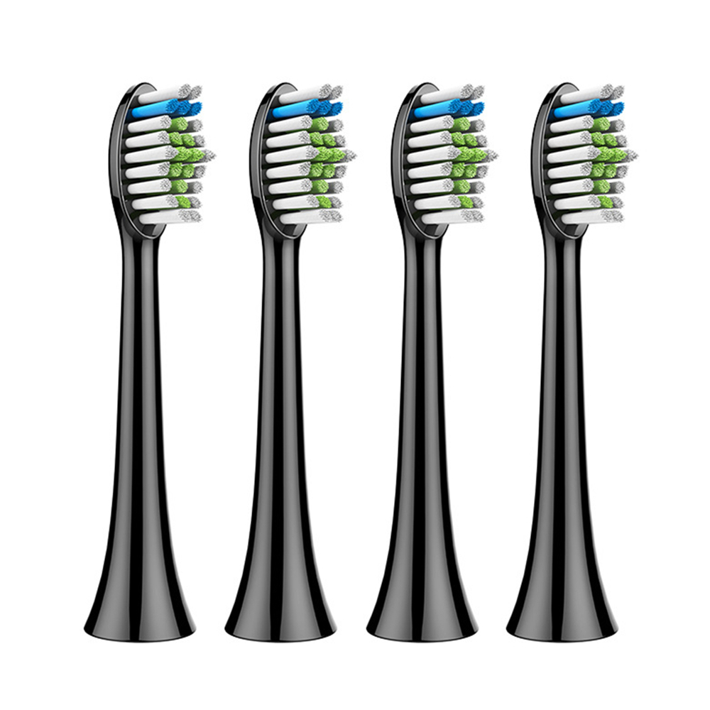 4pcs Replacement Tooth Brush Heads For Philips Sonicare DiamondClean HydroClean Black HX6064 HX9352 Electric Toothbrush Heads image