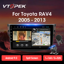 Vtopek 2+32G Android 9.0 T3L Car Radio Multimidia Video Player Navigation GPS For Toyota RAV4 Rav 4 2005-2013 Head Unit 2 Din