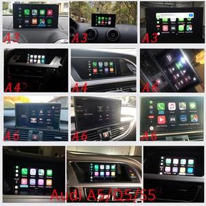 Image 2 - 2020 Wireless Apple CarPlay for Audi A1 A3 A4 A5 A6 A7 A8 Q2 Q3 Q5 Q7 MMI Car Play Android Auto Mirror Reverse Camera