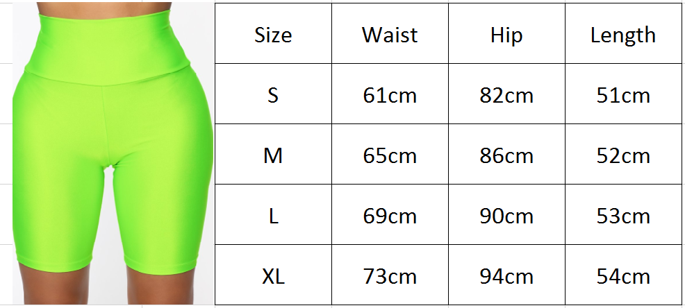H6168bc66e45d452e8bb6148a837cda4dc - Womens Plain Sports Gym Cycling Skinny Fit High Waist Shorts Lady Summer Casual Solid Basic Stretchy Bodycon Short Pants