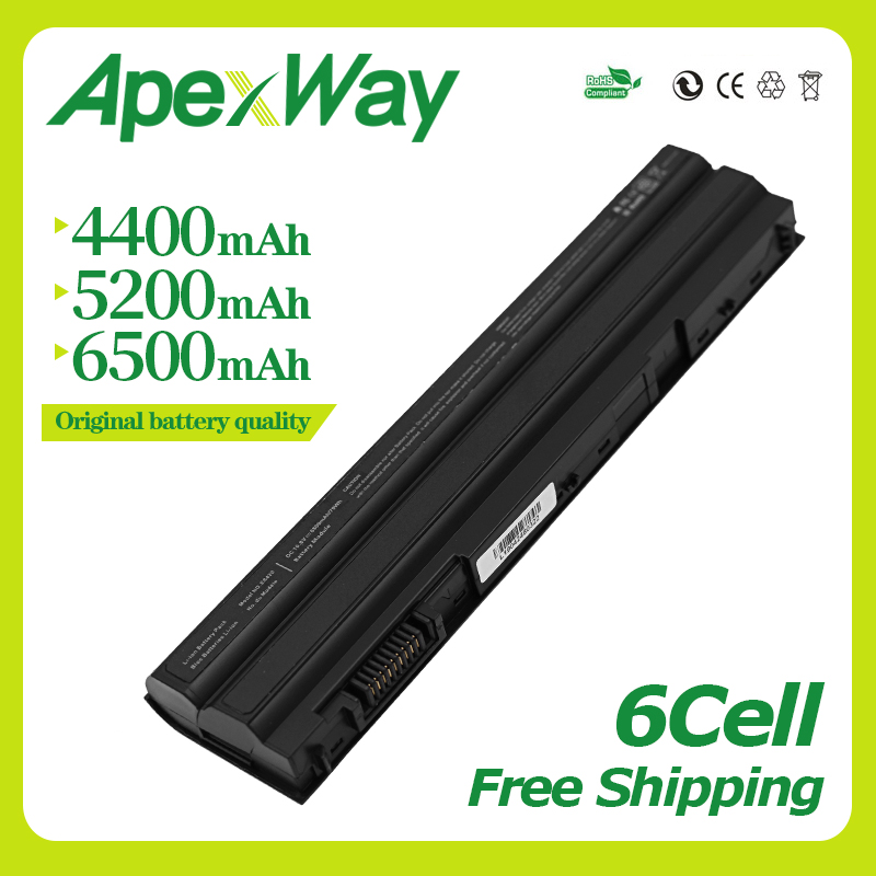 11.1V Battery for Dell Latitude <font><b>E5420</b></font> E5430 E6120 E5520 M5Y0X E5530 E6420 E6420 E6430 E6520 8858x 3560 T54F3 T54FJ 8P3YX 911MD image