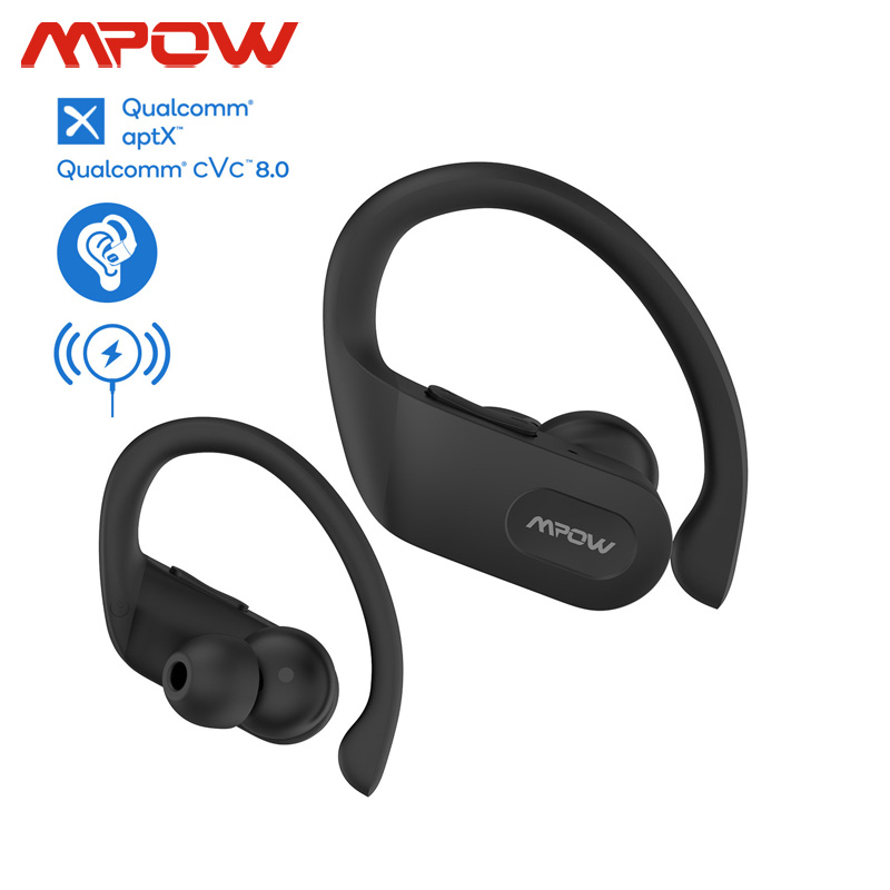 Mpow Flame Pro Wireless TWS Earphones Support Aptx Bass+ CVC 8.0 32h Playtime Bluetooth 5.0 Earphone For iPhone 11 Xiaomi Huawei