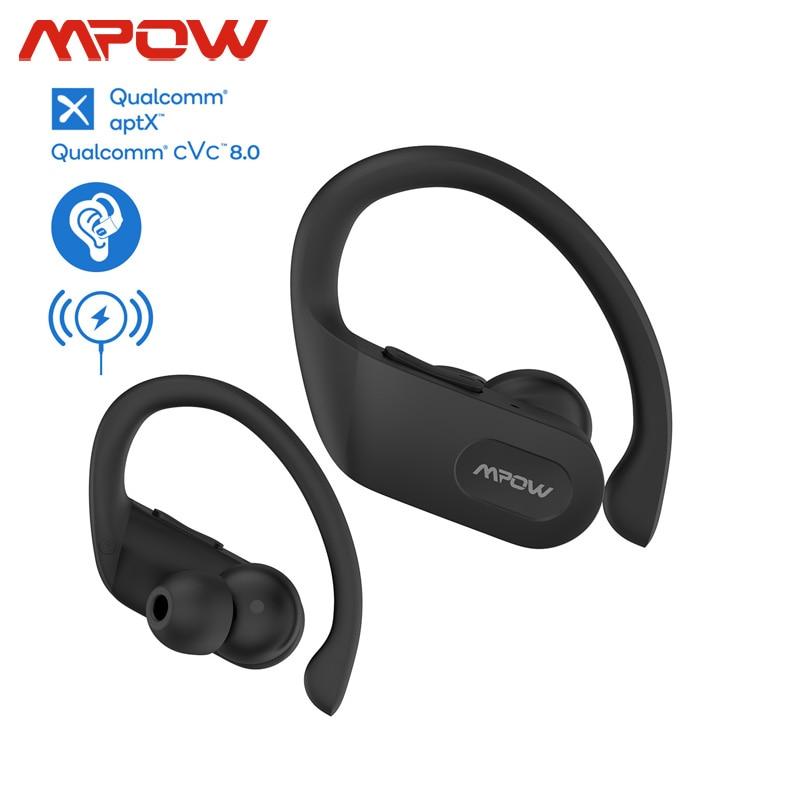 Mpow Flame Pro Wireless TWS Earphones Support Aptx Bass+ CVC 8.0 32h Playtime Bluetooth 5.0 Earphone For IPhone 11 Xiaomi Huawei