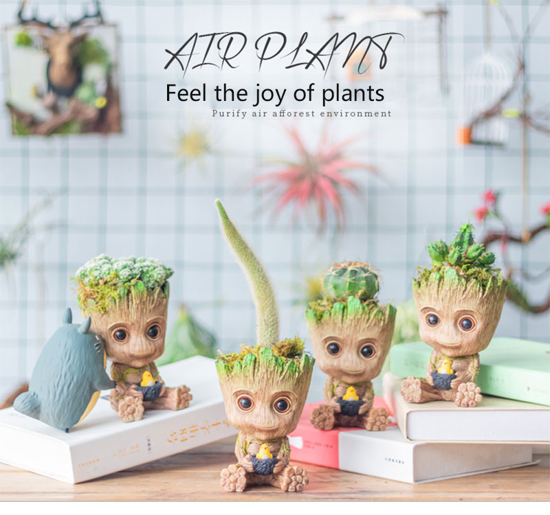 Baby Groot Planter For Home Decoration Free Shipping