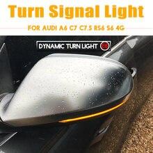 Для audi a6 c7 c75 rs6 s6 4g 2012 2018 светодиодный динамический