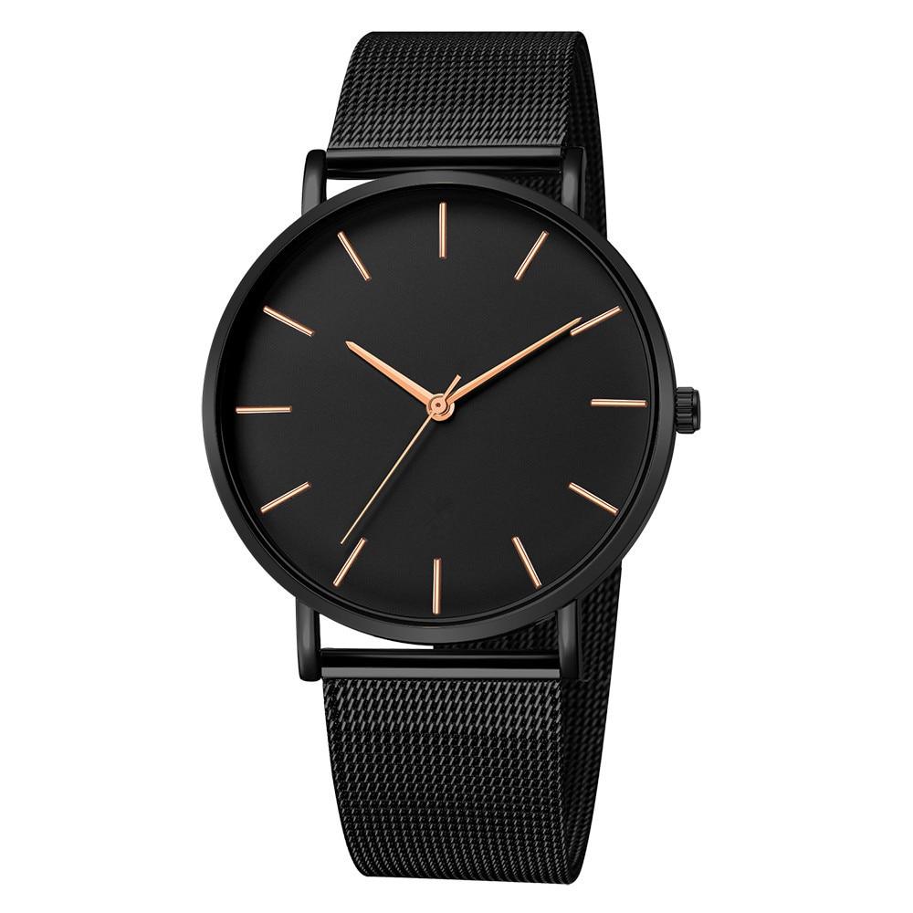 Women Watches Bayan Kol Saati Fashion Rose Gold Silver Men Ladies Watch For Women reloj mujer saat relogio zegarek damski black