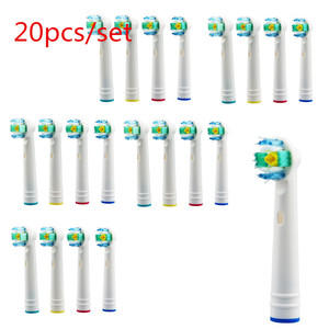 New Arrivals 40pcs or 16pcs or 12pcs or 8pcs Electric Toothbrush Head for Oral Hygiene B Toothbrush Replacement Brush Heads
