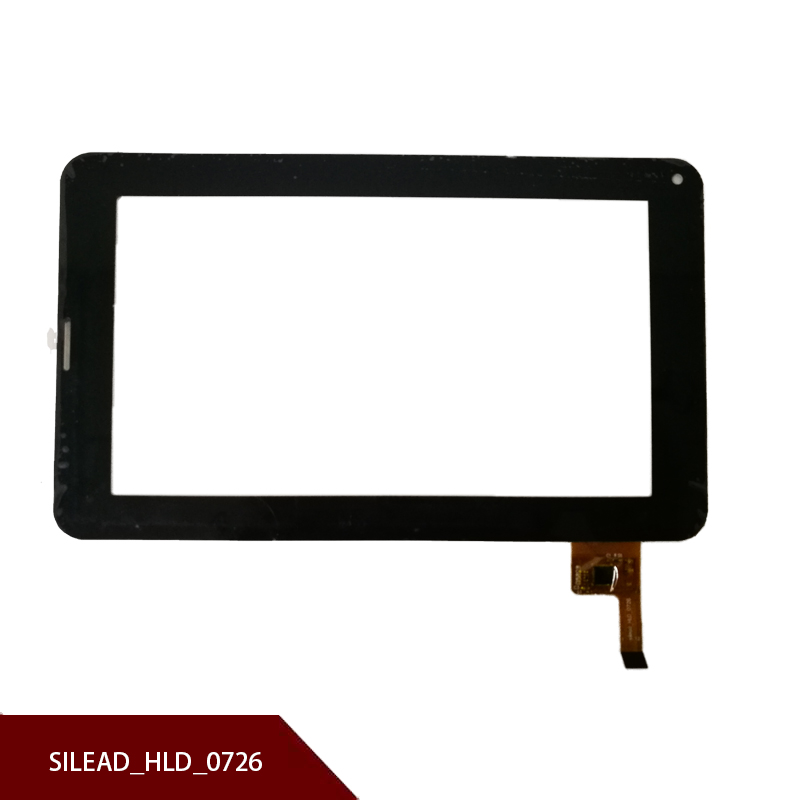 100% New For 7 Inch Black Capacitive For Touch Screen Mach Speed Trio Stealth G2 Silead_HLD_0726 Free Shipping