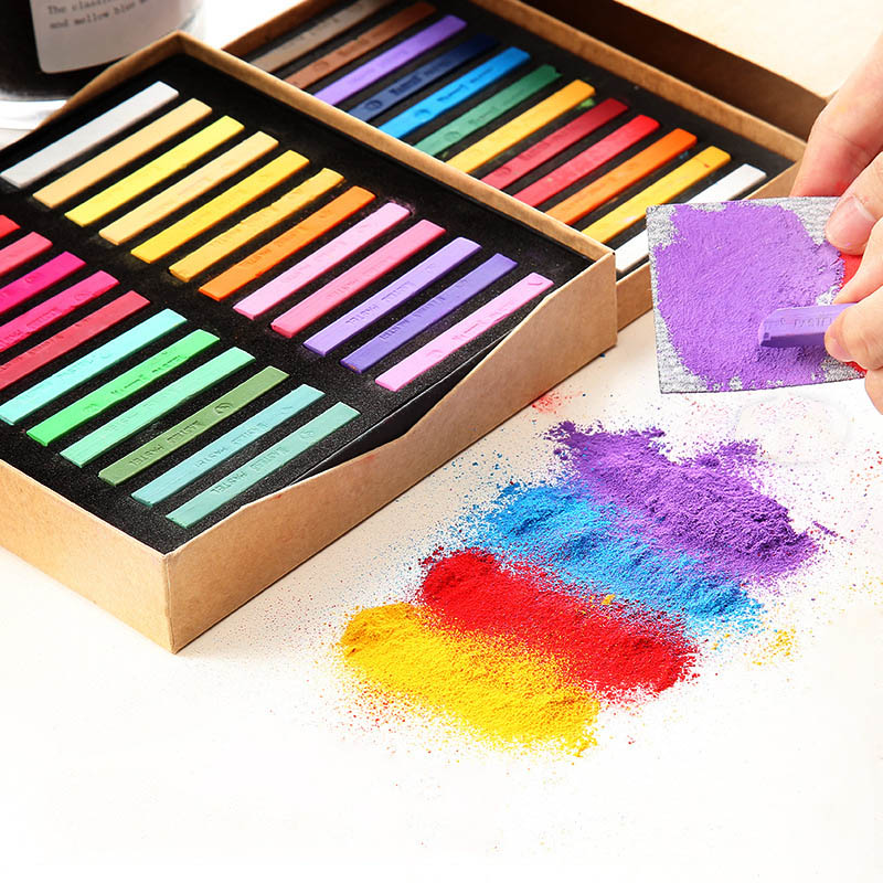 Pastel-Set Crayons Art-Supplies Gift Soft-Painting School-Stationery Artist Professional