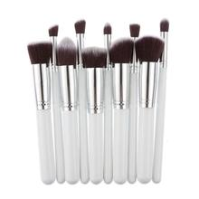 10pcs Pro Makeup Brushes Set Powder Foundation Blush Blending Eye shadow Lip Cosmetic Beauty Make Up Brush pincel maquiagem 5pcs pincel maquiagem makeup brushes set powder foundation contour eyeshadow blush facial coametic make up beauty brush tool set