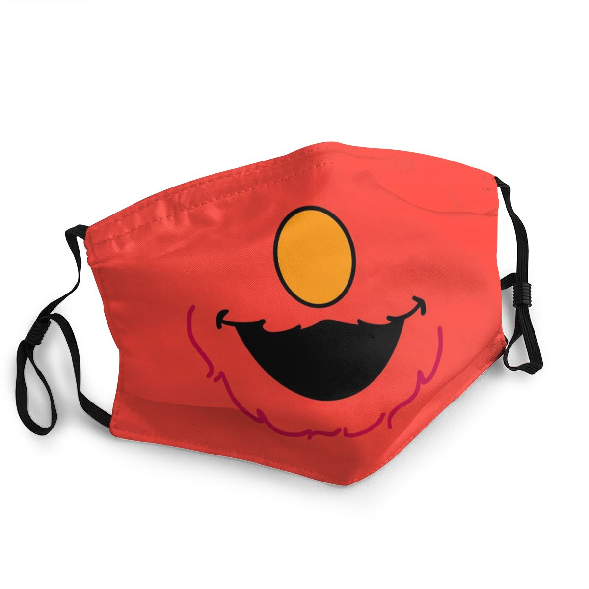Sesame Street Reusable Face Mask Cute Cartoon Anti Bacterial Dust Mask Protection Mask Respirator Mouth Muffle