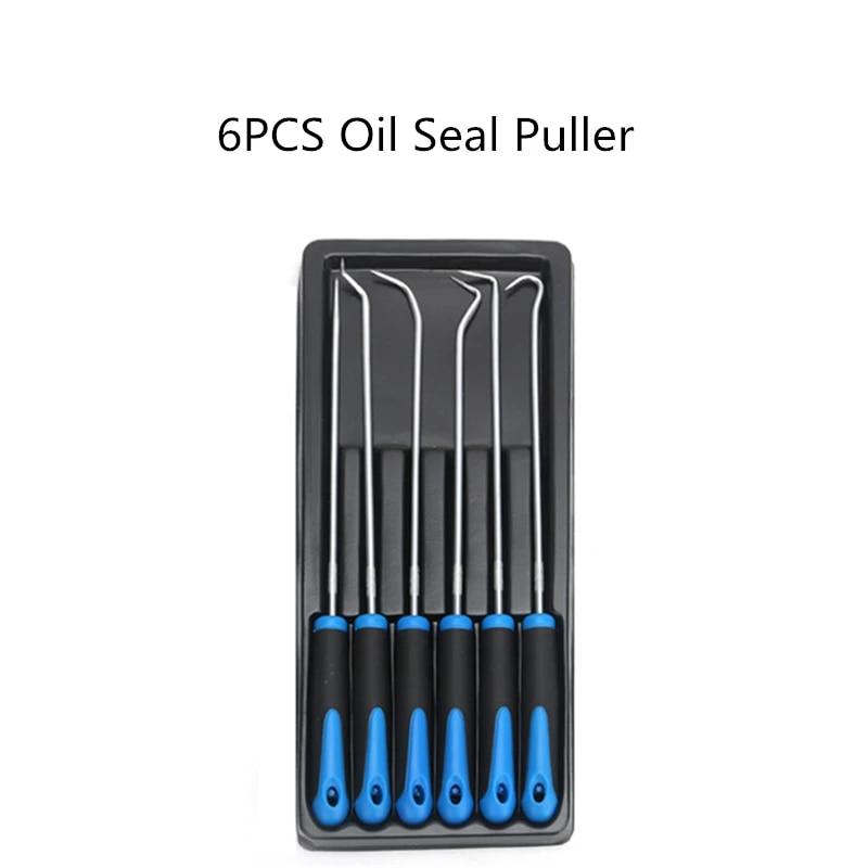 6PCS Hook Pick Set 6pc Automotive Parts Supplies Extra Long O-Ring /&Seal Remover