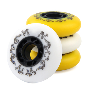 4pcs Free Shipping 90A inline skate wheel slides wheels Freestyle wheel 72 76 80 mm roller skate wheels top a roda