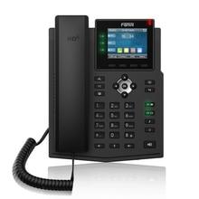 Fanvil, teléfono IP X3U, empresa, teléfono IP de alta definición, Audio inalámbrico, teléfono fijo, negocios de oficina, teléfono VoIP IPv4/IPv6
