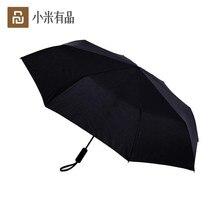 Youpin מתקפל אוטומטי מטריית WD1 23 סנטימטרים חזק windproof אין סרט קרם הגנה עמיד למים אנטי Uv שמש מטרייה