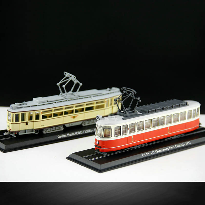 1/87 GroBer hecht 1931 Static Tram Model Toy Alloy Simmering Graz Pauker 1987 Collection Train Toys Car(China)