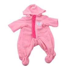 Fashion Outfits Wear For 43cm Zapf Baby Doll 17 Inch Reborn Babies Clothes cheap TWBB a002 Unisex Lifestyle Accessories Suit Less than three years old Doll Accessories