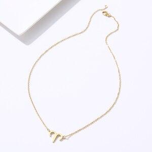 DOTIFI для женщин, элегантное ожерелье из нержавеющей стали с 12 созвездиями, очаровательное женское ювелирное ожерелье T65