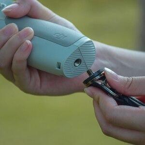 Image 4 - Naylon el kayışı kordon bilek kayışı DJI OM 4 Osmo Mobile 2 3 Zhiyun pürüzsüz 4 Q Feiyu Vimble vlog cep Moza aksesuarları