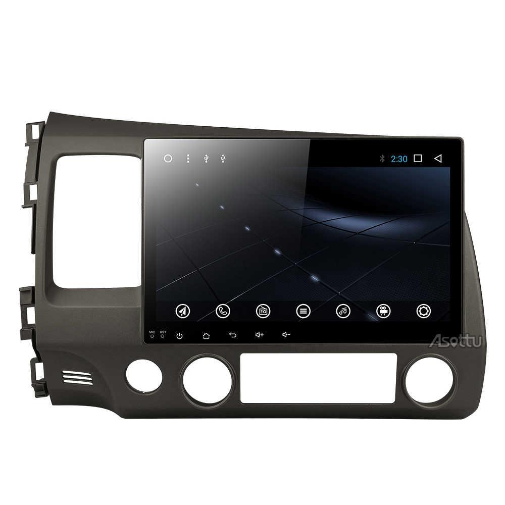 10.1 Inch Radio 2Din Android 8.1 Autoradio Stereo Đa Phương Tiện Cho Xe Honda Civic 2006-2011 GPS Wifi 45