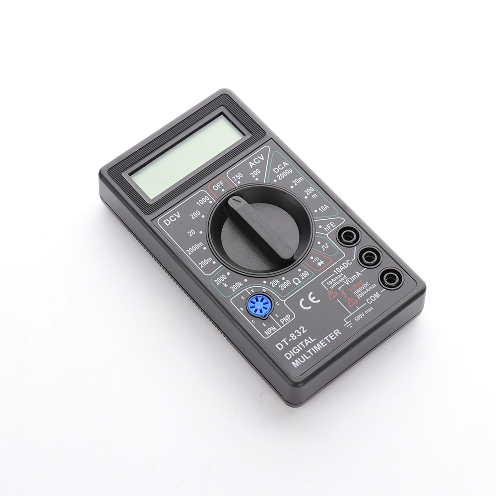 Professional 1Pcs DT 832 Mini Digital LCD Voltmeter Ammeter Ohm Tester Multimeter Professional Current Resistor Electric Tester|Multimeters|   - AliExpress