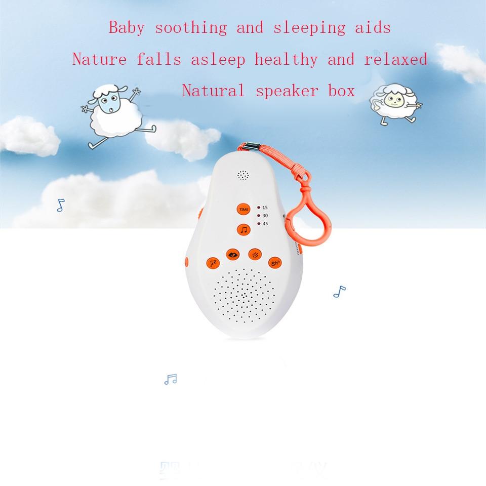 Instrumento de sueño de ruido blanco, aparato doméstico, teclado de ayuda para dormir Hypnotic, lámpara de sueño recargable portátil-in Sueño y ronquidos from Belleza y salud    3