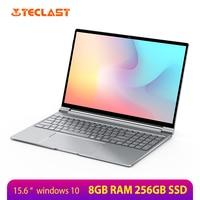 Teclast F15 Laptop 15.6 inch 1920x1080 FHD Windows 10 Intel Gemini Lake N4100 8GB RAM 256GB SSD Notebook Backlit Keyboard HDMI
