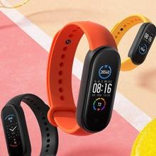 Smart Bracelet Mi-Band Amoled-Screen Fitness Traker Heart-Rate Bluetooth Xiaomi Large