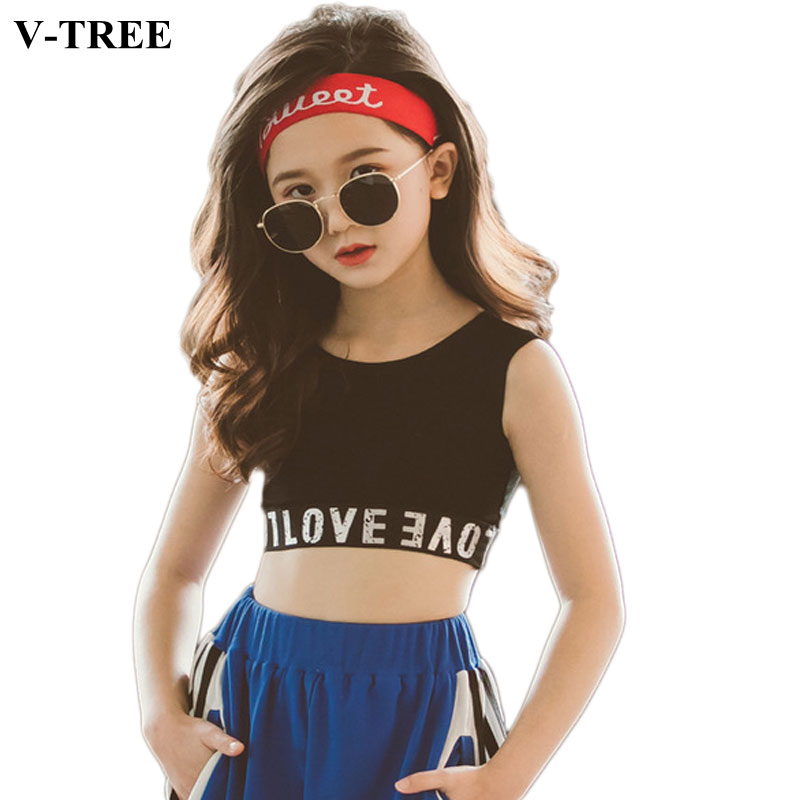 Underwear Tank-Tops Singlets Model Girls Camisole Teenager Kids Cotton  title=