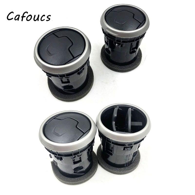 Cafoucs Car Front Dashboard Center Air vent  3pcs/4pcs Air Conditioner Vent Outlet For Nissan Dualis Qashqai J10 2007 -2013