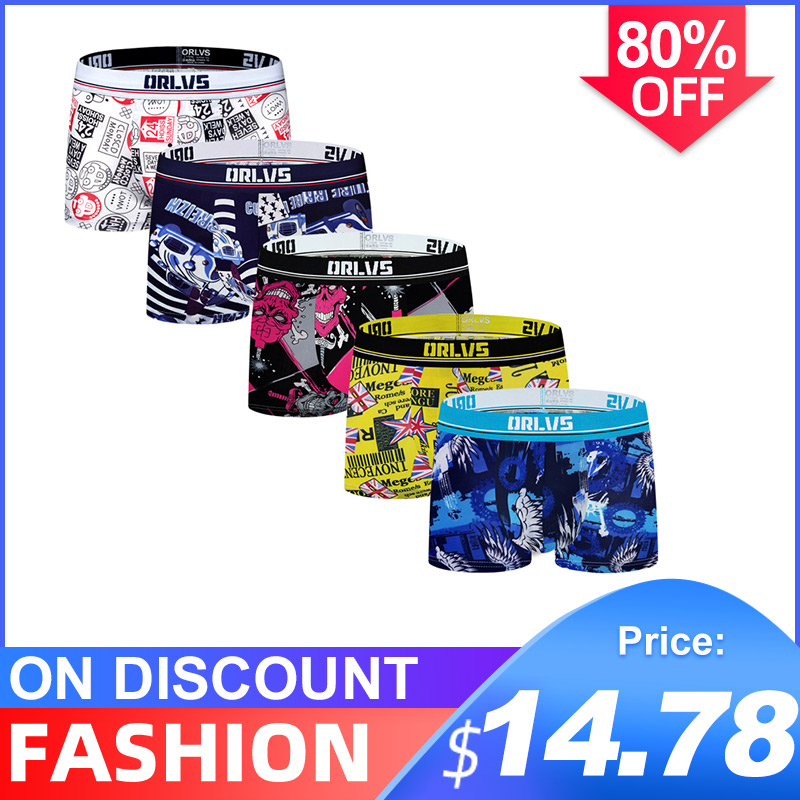 5Pcs/lot CMENIN New Arrival Cotton LOGO Low Waist Underwear Mens Boxer Homme Trunks Boxer Men Undeware Boxers Top OR303