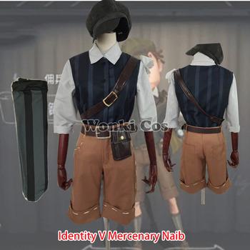 Gra tożsamość V Unisex Survivor najemnik Naib Cosplay kostium pełny (zestaw) z kapeluszem talii torba mężczyźni kobiety Naib cosplay tanie i dobre opinie CN (pochodzenie) Spodnie Kamizelka GAME Dla dorosłych Zestawy