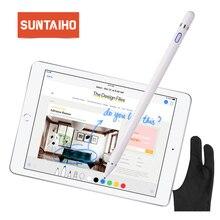 Для apple Pencil 2 Suntaiho стилус емкостный сенсорный карандаш для apple ipad Pencil для iPhone XS MAX с розничной упаковкой