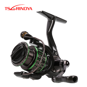 Image 3 - TSURINOYA Spinning Fishing Reel Kingfisher Double Spools Trout Reel 800 1000 1500 Extra Spool Ultralight Micro Bait Lure Reel
