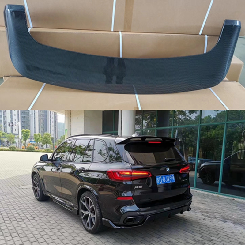 For BMW X5 spoiler G05 spoiler 2016 2019 rear wing spoiler Paste Installation ABS Material Rear Roof Trunk Spoiler Spoilers & Wings     - title=