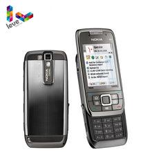 Nokia E66 kaymak telefonu orijinal kullanılan E66 GSM WIFI Bluetooth 3.15MP kamera 2G 3G Unlocked cep telefonları ücretsiz kargo
