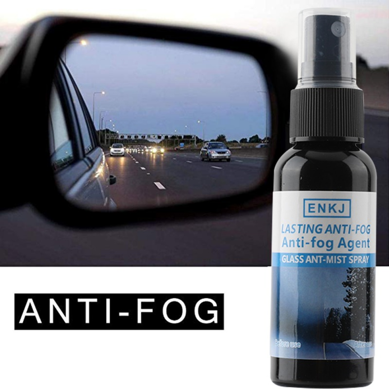 ENKJ 50ML Car Window Spray Glass Cleaner Window Rainproof Anti-Fog Agent Water Repellent Glass Cleaners