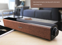 Wireless Bluetooth Speaker 20W Boombox Soundbar tv subwoofer Portable Bookshelf Speakers Column Loudspeaker Aux for Computer
