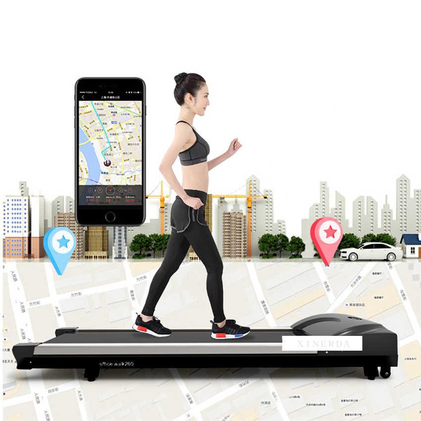 tapis de course intelligent pour la maison equipement d entrainement physique a la marche mini tapis de course electrique silencieux perte de poids