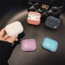 Luxury Glitter Bling Case For Apple Airpods 3 Wireless Headphone PC Protective Cover For Airpods Pro Charging Box Case(China)