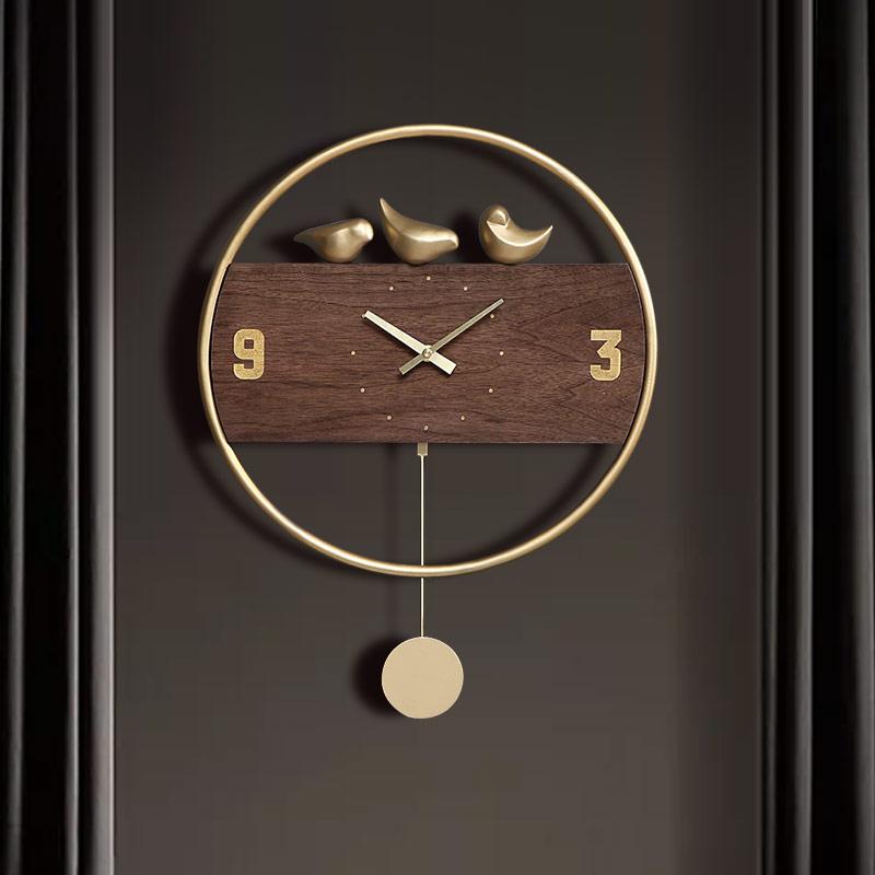 Modern Minimalist Light Luxury Wall Clock Nordic Creative Unique Clocks Living Room Bedroom Home Fashion Silent Quartz Clock 5wd Wall Clocks Aliexpress