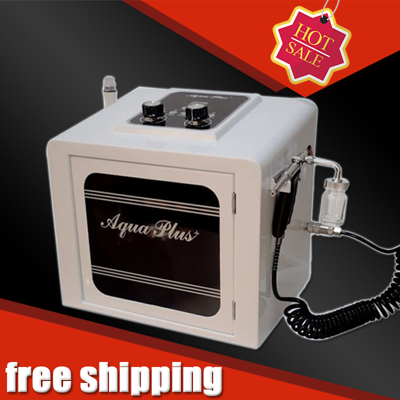 2 In 1 Hydra Dermabrasion Oxygen Facial Gun Skin Tightening Skin Refreshing Spa Equipment  Fast Shipping