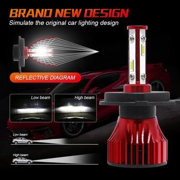 H8 H9 H11 4300K 5000K 6500K 8000K 25000K Auto Fog Light 80W 16000LM 12V LED Bulb 2pc 26W 8000LM Car Haedlight H4 H7 H1 LED 2