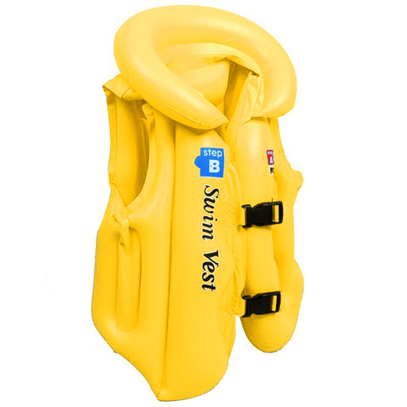 Child Survival Jacket Swimming Inflatable Safety Life Jacket Children Kids Vest Training Swimming Floating