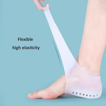 Silikonowe niewidoczne wkładka podwyższająca 1 5CM 2 5CM 3 5CM podnoszenia nowa aktualizacja miękkie skarpetki wkładka do butów dla mężczyzn kobiety dropshipping tanie i dobre opinie ZONUO CN (pochodzenie) 1 cm-3 cm Średnie (b m) Wkładki ZN0068 WOMEN Polka dot Anti-śliskie Szok-chłonnym Lekki Wysokość zwiększenie