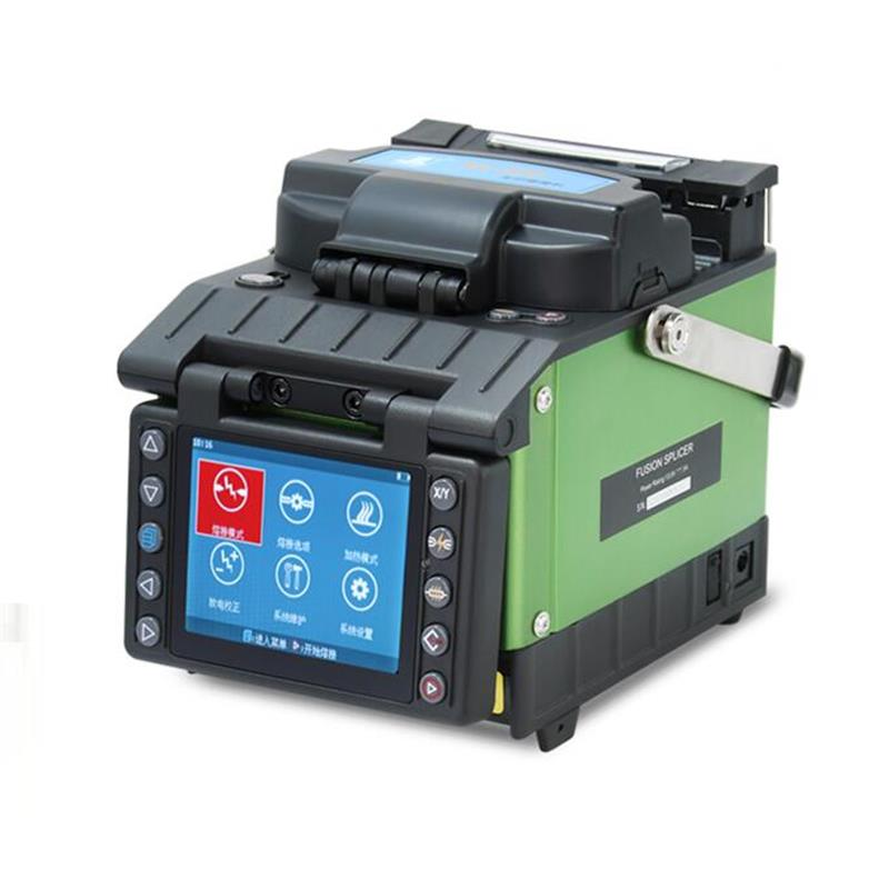 New Model Digital Portable Handheld JILONG KL-520 Optical Fiber Fusion Splicer JILONG KL-520/Fusionadora De Fibra Optic