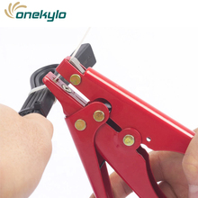 Clamp Automatic Fastening Cutting Tool Special Cable Tie Gun Pliers for Nylon tie  pliers HS-519 2.4-9mm