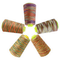 MIUSIE Embroidery Sewing Thread Rainbow Polyester Thread Set Strong And Durable Hand Sewing Thread Craft Patch Sewing Supplies