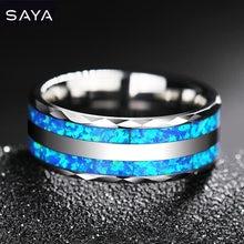 2021 вольфрамовое кольцо для свадьбы инкрустация два шт синтетический